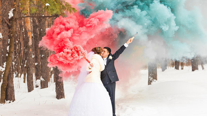 Coloured Smoke Bombs