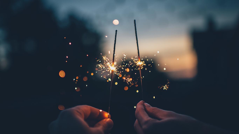 Sparkling Send Off!